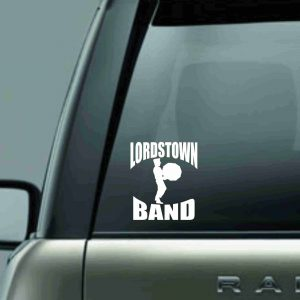 Lordstown Band Drums-Decal